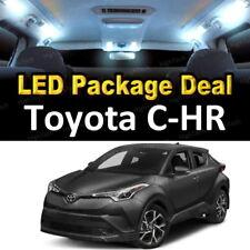 For 2018 Toyota C-HR CHR LED Lights Interior Package Kit WHITE 10PCS