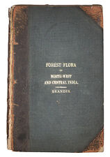 1874, 1st, THE FOREST FLOA OF NORTH-WEST AND CENTRAL INDIA, STEWART, BRANDIS