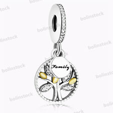 925 European Sterling Disney CZ Dangle Silver Charms Bead for Bracelet Necklace
