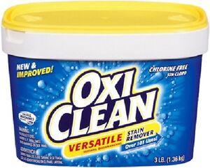Church & Dwight 3.0 LB, Oxi Clean, Multi-Purpose, Stain Remover