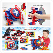 New Captain America's shield Electric soft bullet emitter with sound and light