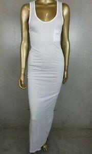 RELIGION DRESS - WHITE LONG TANK DRESS  - SIZE LARGE