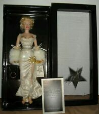 Franklin Mint Marilyn Monroe Millennium RARE LTD Vinyl Doll New with COA.