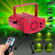 Music Active LED Stage laser Light Red Green Star Projector Disco Party Remote