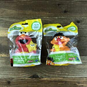 Elmo & Ernie Sesame Street TV Show Bath Squirters Toy Brand NEW Hasbro Playskool