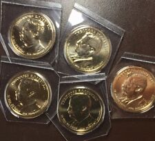 2013 D Roosevelt Dollars from Mint Sets x 5