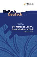Einfach Deutsch  Die Marquise Von O. Und Weitere Texte - GERMAN - PBK - NEW