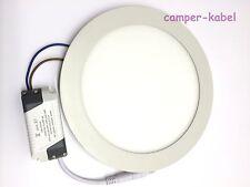 18W LED Panel Einbaustrahler weiss flach rund warmweiss entspricht 150W Art. 454