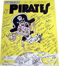 Pittsburgh Pirates Mania Autographed 16x20 Photo w/ J. Paul Sports COA