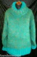handgestrickt Pullover Mohair Unisex 48 50 52 54 XXL handknitted Made in Germany