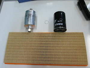 PORSCHE 968 AIR OIL FUEL FILTER KIT ALL BRAND NEW MAHLE AIR OIL  GENUINE FUEL