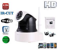 IR-CUT WIRELESS WIFI IP CAMERA H.264&M-JPEG HD 720P DUAL AUDIO MOBILE VIEW DDNS