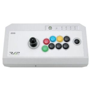 USED Real Arcade Pro.VX SA for Xbox 360 Hori Controller Video Game White Japan