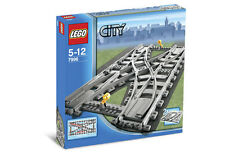 NEW Lego RC TRAIN 7996 Double Crossover Track Ships World Wide