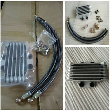 Durable Motorcycle Oil Cooler Radiator Engine Cooling & Accessories Set M10 Bolt