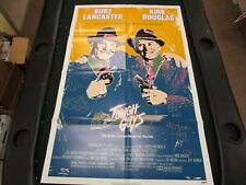 1 Sheet Movie Poster Tough Guys 1986 Burt Lancaster Kirk Douglas Charles Durning