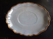 Luster Finish Made in Germany Oval Shaped Under Plate Saucer