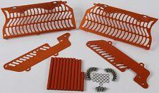 Unabiker Radiator Guards Orange For KTM 200-300 XCW 2 Stroke 08-16 14KTMXCW-O