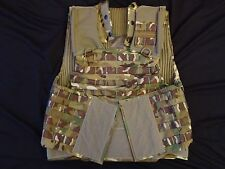 British Army OSPREY MK4 MTP Body Armour Cover / Molle Vest 180/104 - Grade 1