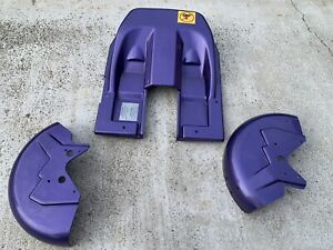 Permobil PLAYMAN PURPLE Shroud BATTERY and Wheel Covers Electric Wheelchair