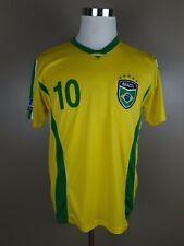 Brazil Soccer Jersey sz Small #10