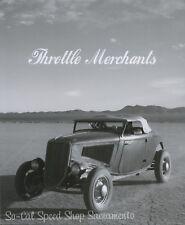 THROTTLE MERCHANTS MAGAZINE #5 PHOTO BOOK HOT ROD BONNEVILLE HOP UP TRADITIONAL