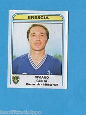 PANINI CALCIATORI 1980/81-Figurina n.91- GUIDA - BRESCIA -Recuperata