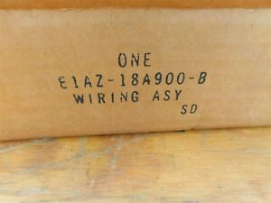 NOS 1981 FORD LTD CROWN VICTORIA COUNTRY SQUIRE RADIO TO REAR SPEAKER WIRING HAR