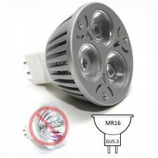 MR16 LED SPOTLIGHT 3x1W BULB LAMP 3W HIGH POWER WARM WHITE 50000hrs CE RoHS LS