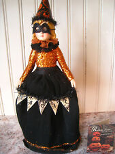 Magic Halloween Doll - Good Witch Girl Costume Figurine - by Bethany Lowe TD6040