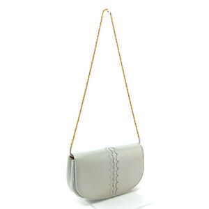 CHARLES JOURDAN Shoulder bag White Gold Woman Authentic Used P120
