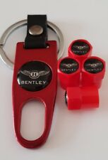 Bentley METAL Wheel Valve Dust Caps tous les modèles Rouge 5 couleurs de Noël Stocking