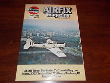RARE OLD VINTAGE AVIATION MAGAZINE AIRFIX FOR MODELLERS MODEL AIR JULY 1982