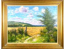 REDUCED Mervyn Goode - 'Fresh Summer Day, The Downs' - Oil on Canvas, Landscape