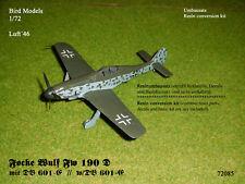 Focke Wulf FW 190 D con dB 601-e 1/72 Bird models rimodellamento tasso/CONVERSION KIT