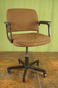 60er Vintage Office Chair Swivel Chair Desk Chair Sedus Architects 70er