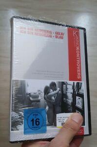 Ich bin neugierig - gelb/blau [2 DVDs] + OOP + uncut + wie neu + Kino Kontrovers