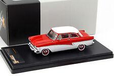 Ford taunus 17m année-modèle 1957 rouge/blanc 1:43 premium x