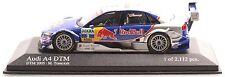 MINICHAMPS 400051502 Audi A4 DTM 2005 Team Abt M. Tomczyk 1:43 NEU/OVP