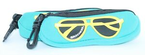 (2 PACK!) NEW - AUTHENTIC - SKECHERS KIDS EYE/SUNGLASSES ZIPPER CASES