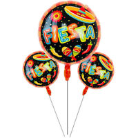1pc spanish happy birthday party decor Fiesta Foil Balloons wedding party toy TB