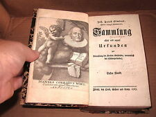 (1767) Historical documents, Church History SWITZERLAND Swiss, German text