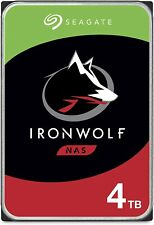 IronWolf 4TB NAS Internal Hard Drive HDD – CMR 3.5 Inch SATA 6Gb/s 5900 RPM 64MB