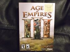 Age of Empires III PC CD-ROM Game 2005 Complete With Key 3 Discs Very Good
