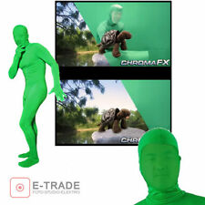 NEW -- XL Or L -- Green Lycra chrominance green screen Body Suit Green chrominance