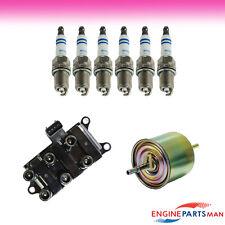 TK Fits 03 Ford E-250 V6 4.2L Tune up Kit Ignition Coil Fuel Filter Plug