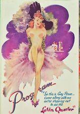 """The Latin Quarter 'Paris After Dark' Program c1951"""