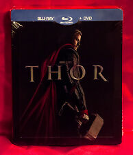 Thor Marvel Rare Collector's Edition Steelbook, Blu-Ray Spain Import New