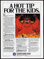 Warner Video / NELVANA__Original 1981 print AD promo__The Devil and Daniel Mouse