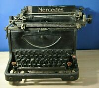 Antique typewriter Mercedes. 1920-30.